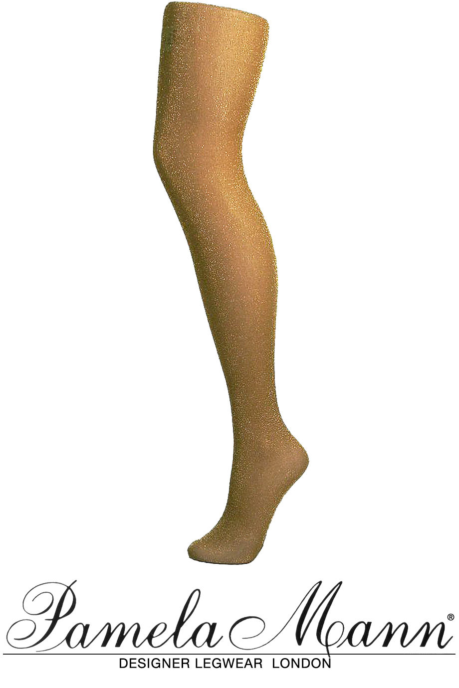 Sexy pantyhose gold must