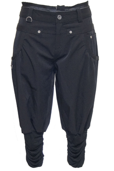 Cargo cropped Pants black