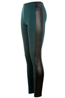 Perfectly Panelled leggings green
