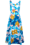 Margot Blue Asilah Floral Dress
