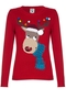 Christmas Reindeer sweater red