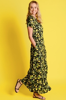 Lemon Blossom Maxi dress