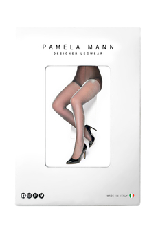 Silver Shimmer Tights black/silver
