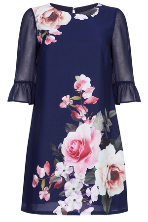 English Rose Tunic-dress navy