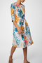 Giardino Tencel/Cotton Floral Print Dress