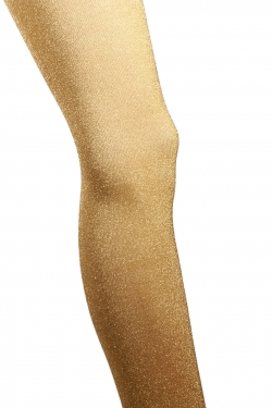 Lurex Fine Highball Tights gold