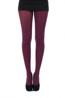 50 Denier 3D Tights damson