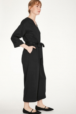 Tunbridge Tencel and Bamboo Wide-Leg Jumpsuit