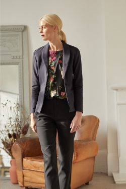 Tace Organic Cotton Blazer Black