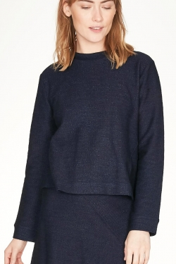 Viola Organic Cotton Boxy Blouse