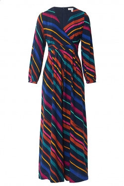 Pattie Jumpsuit in Charming Crayon Stripe