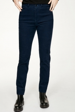 Omelia Organic Cotton Cord Skinny Trousers
