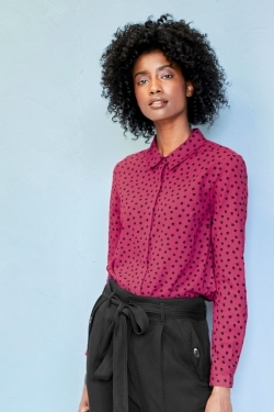 Dalloway Organic Cotton Spotty Shirt
