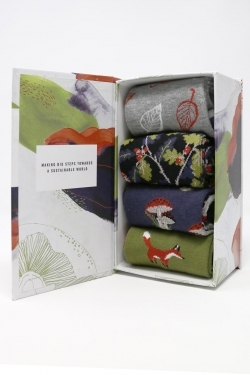 Wildwood Bamboo Socks Gift Box