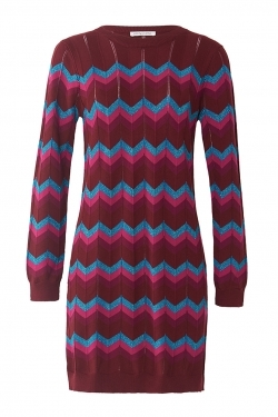 Tyler Knitted Sweater Tunic-Dress
