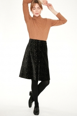 Selina Velvet Organic Cotton Skirt