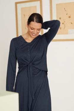 Lamarck Organic Cotton & Tencel™ Jersey Dress