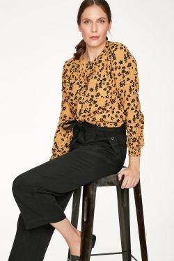 Jekyll Organic Cotton Printed Blouse