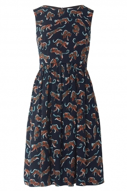 Anneka Dress in Leopard Days