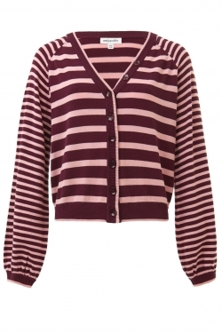 Barbary Stripe Knitted Cardigan