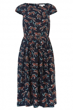 Claudia Leopard Days Dress