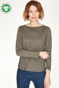 Fairtrade GOTs Organic Cotton Long Sleeve T-Shirt