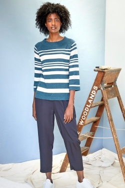 Sail La Vie Organic Cotton & Wool Knitted Blouse