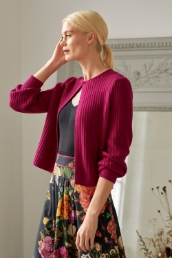 Permilia Organic Cotton & Wool Cardigan